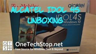 Lenny unboxes the Alcatel Idol 4S running Windows 10 Mobile, which comes with it's own VR Headset.Many thanks to Alcatel for sending out the device for review.Find out more about the Alcatel Idol 4S on T-Mobile by following this link: http://www.t-mobile.com/cell-phones/alcatel-idol-4s-with-windows-10-vr.htmlAny comments and questions are welcome, and you can visit our website: http://onetechstop.netFind us on Twitter: http://twitter.com/onetechstopAnd make sure you subscribe to catch our upcoming videos!