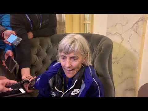 Joan Benoit Samuelson After 2019 Boston Marathon