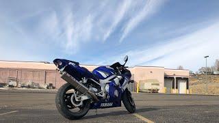 9. Introducing my 2002 Yamaha R6 || I GOT A NEW BIKE