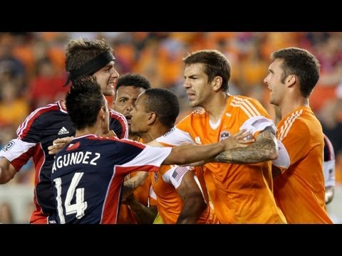 HIGHLIGHTS: Houston Dynamo vs NE Revolution | May 18, 2013_Soccer, MLS. MLS's best of the week