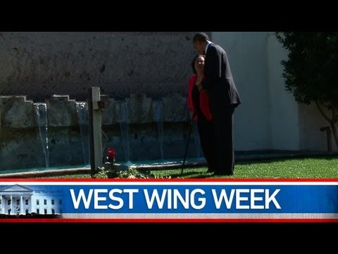 """West Wing Week: 10/12/12 or """"Our Journey Is Never Hopeless, Our Work Is Never Done"""""""