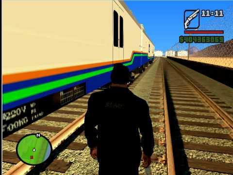 Grand Theft Auto:San Andreas Indonesian Train(kereta Indonesia)