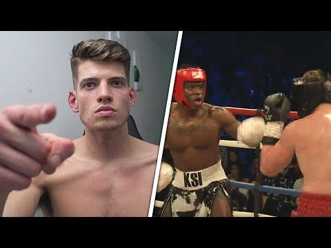 Calling Out KSI. - Reacting to KSI vs Joe Weller Boxing Fight (видео)