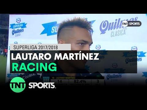 Lautaro Martínez: 'Mi cabeza está en Racing'