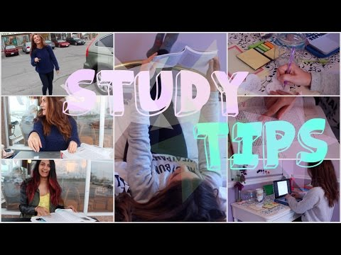HOW TO SURVIVE FINALS! | Study Tips | GET AN A FOR FINALS!