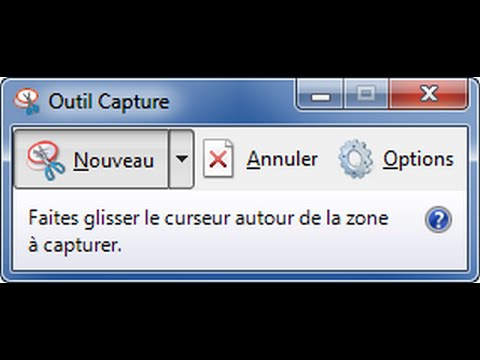 comment installer outil capture