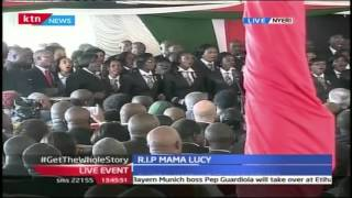 State House Choir Performs At Mama Lucy Kibaki's Funeral Service
