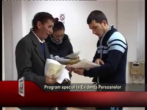 Program special la Evidența Persoanelor
