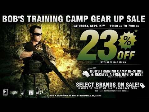 events - Enjoy the video? Follow the link to subscribe: http://www.youtube.com/subscription_center?add_user=airsoftgidotcom ◅◅◅ GI Tactical Gear Up Sale on Sept. 27th 23% off (Excluding...