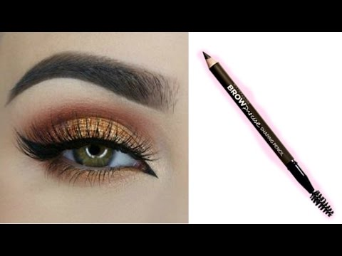 Easy EYEBROW TUTORIAL For Beginners Using Pencil || Best Eyebrow Pencil