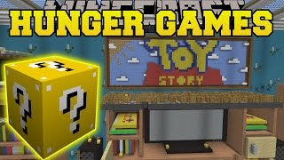 Minecraft: TOY STORY 2 HUNGER GAMES - Lucky Block Mod - Modded Mini-Game