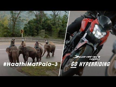 Bajaj Auto-Bajaj Dominar takes on competition again, with elephant analogy
