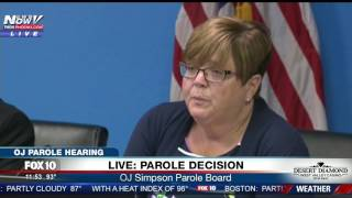 EMOTIONAL MOMENT: Watch OJ's Reaction When He's Granted Parole