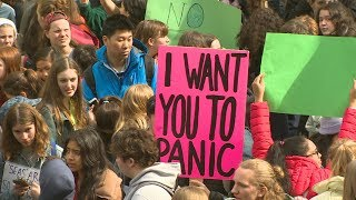 B.C. students protest political inaction on climate change