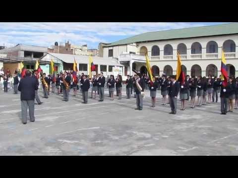 Juramento a la Bandera 3os. de Bachillerato 2013