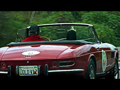 Ferrari 275GTS Mercedes-Benz 300 SL - California Dream Cars видео
