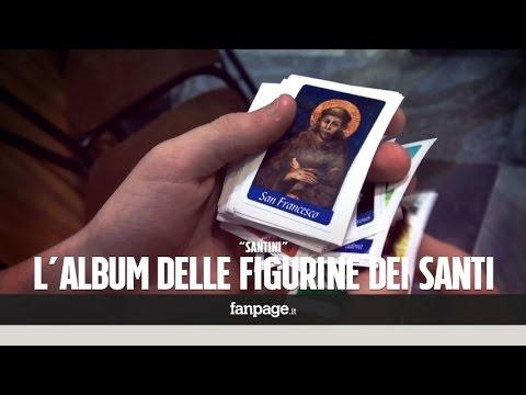 Random: Notizie dall'Italia e dal Mondo. Madre Teresa come Higuaín: l'album delle figurine dei santi.