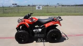 9. For Sale $2,899:  Pre Owned 2015 Arctic Cat 150 ATV in Red