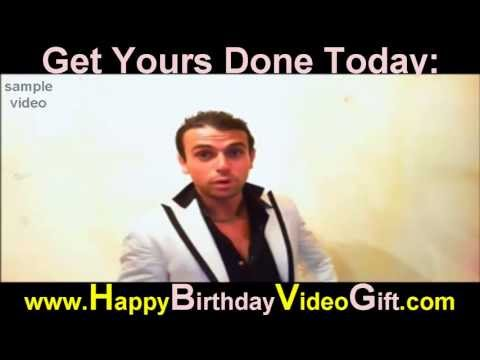 Happy Birthday Video | Sample 1 – Italian Gangster
