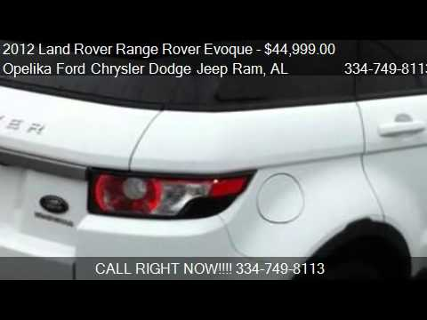 2012 Land Rover Range Rover Evoque Pure Plus - for sale in O
