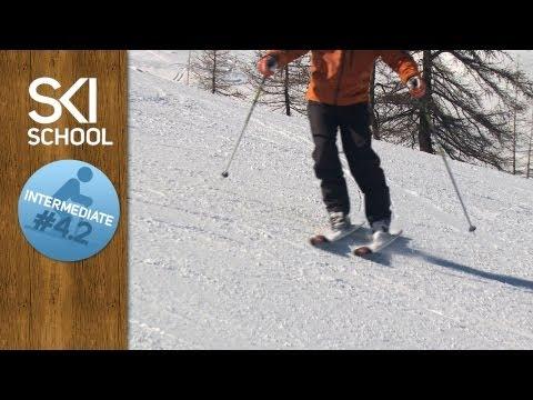 Intermediate Ski Lesson #4.2 - Edging (видео)