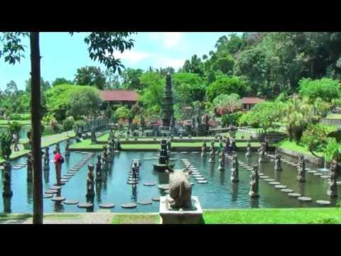 Taman Tirtagangga is a former royal palace in Karangasem, eastern Bali, Indonesia