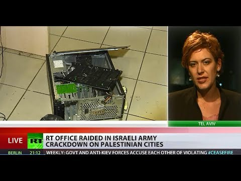 RT office in Ramallah raided by Israeli forces
