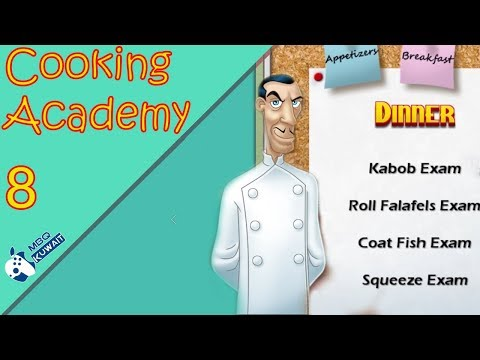 Let's Play Cooking Academy Part 8 - [ Dinner Recipes & Exam ]