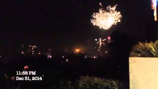 fireworks new year 2015 manila philippines ①