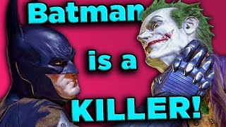 Proof Batman Kills, A LOT! | The SCIENCE!... of Batman