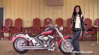 10. Used 2006 Harley Davidson CVO Fat Boy Lo Motorcycles for sale