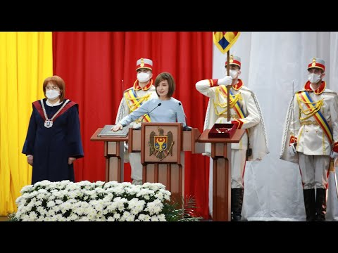 Inauguration speech of the President of the Republic of Moldova, Maia Sandu