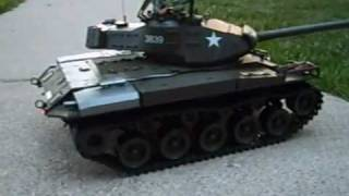 RC 1:16 U.S. M41A3 Bulldog W/ Sound And Smoke Effects Electric Airsoft Battle Tank RTR