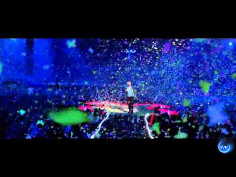 coldplay politik live - Coldplay Live 2012 - In My Place.