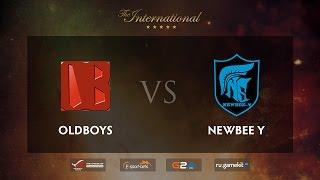 Oldboys vs Newbee.Y, game 2