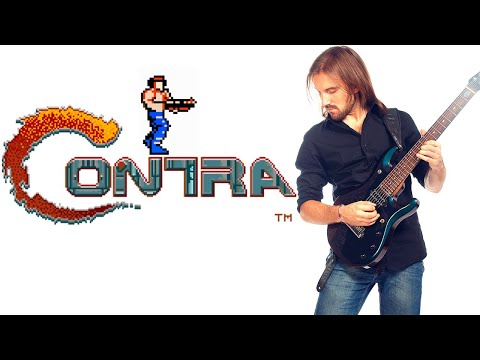 ➡ Contra (nes/dendy) - All stages OST Metal cover. With gameplay.