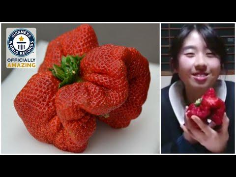 Heaviest strawberry Guinness World Records