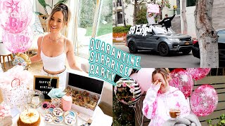 my quarantined surprise birthday party!! *i cried so hard by Alisha Marie Vlogs