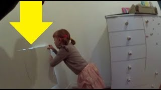 Video Little Girl Finds A Secret Room In Her House That Leads Into An Even Wilder Surprise MP3, 3GP, MP4, WEBM, AVI, FLV Maret 2018