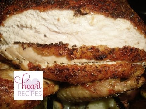Mouth Watering Roast Chicken Recipe (I Heart Recipes)