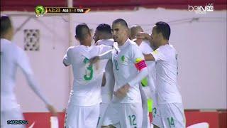 أهداف الجزائر 7_0 تنزانيا تصفيات كأس العالم 2018 تعليق حفيظ دراجي HD