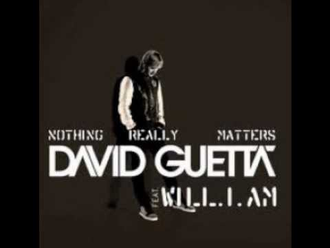 David Guetta Nothing Really Matters