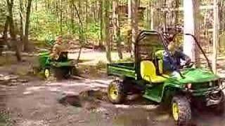 9. John Deere Gator 850D Pull-off