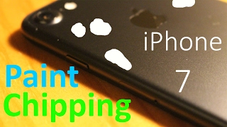 iPhone 7 SH*T PAINT PEELS away by ITSELF 2017 PaintGate, iPhone, Apple, iphone 7