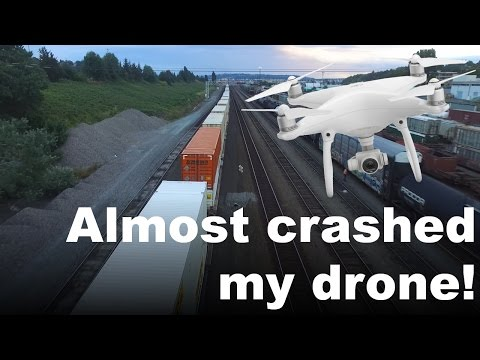 Almost CRASHED MY DRONE!!!