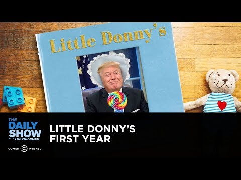 Little Donny's First Year: The Daily Show