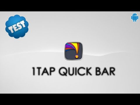 Video of 1Tap Quick Bar -Quick Settings