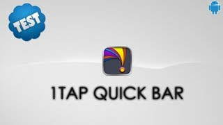 1Tap Quick Bar -Quick Settings YouTube video