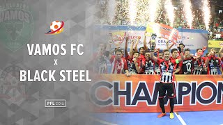 Video Highlight Final : Black Steel Manokwari Vs Vamos FC Mataram (3(2) -3(0)) : Pro Futsal League 2016 MP3, 3GP, MP4, WEBM, AVI, FLV Februari 2018