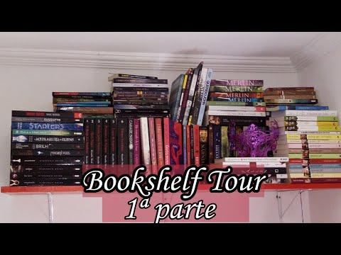 ?BOOKSHELF TOUR? | 1ª parte 1?? | Livro Livro Meu | Leticia Ferfer